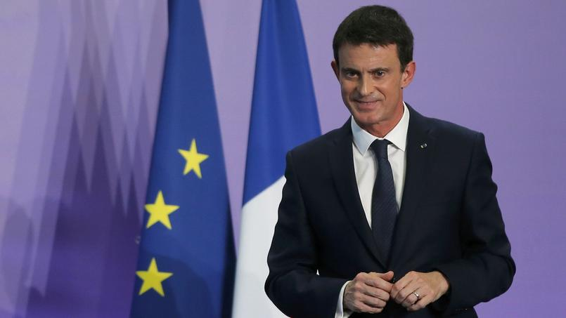 Manuel Valls, vendredi à Nancy.