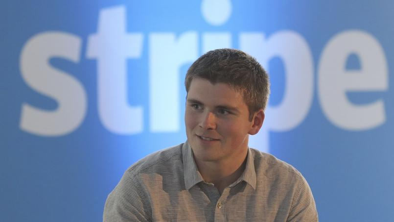 John Collison, co-fondateur de la start-up Stripe, à l'occasion de l'ouverture du bureau Stripe à Paris, en juin 2016.
