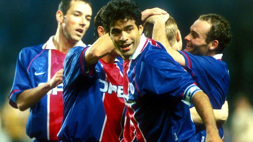 Rai avec le Paris ST le 21 mars 2001 face à Liverpool.