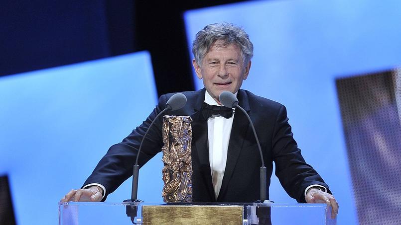 Roman Polanski à la 36e Cérémonie des Césars reçoit le César du meilleur réalisateur pour le film  The Ghost Writer à Paris le 25 février 2011