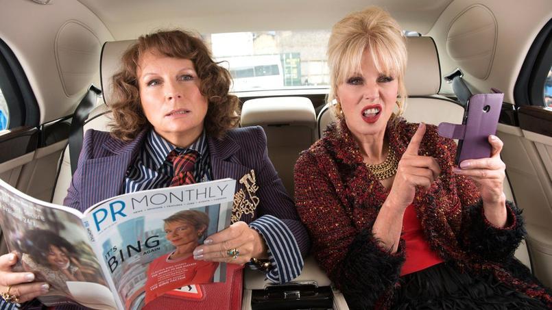 Jennifer Saunders et Joanna Lumley alias Eddy et Patsy.