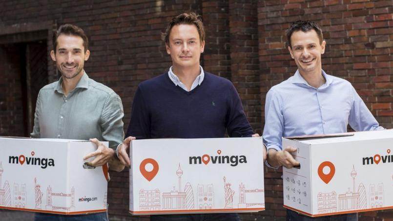 L'équipe de Movinga compte 25collaborateurs, basés en Allemagne.