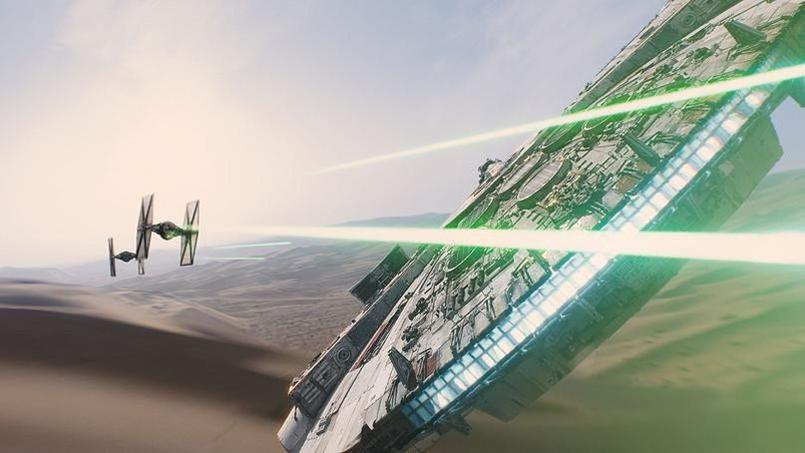 Sans surprise, Star Wars VII: Le Réveil de la force, arrive en tête du classement.