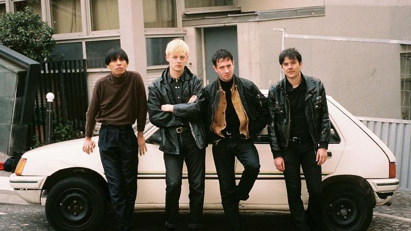 Les quatre membres de Rendez-vous. (De gauche à droite: Francis Mallari, Simon Dubourg, Eliott Berthault et Maxime Gendre)