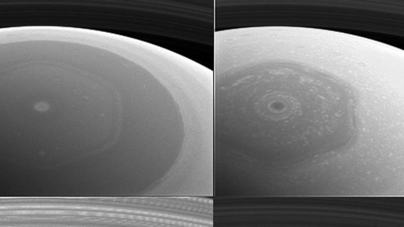 Cassini transmet de nouvelles images de l'étonnant
