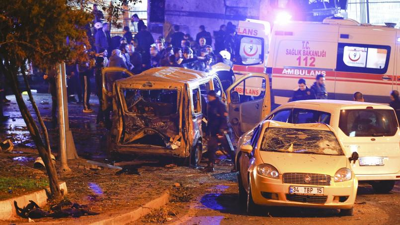 Le bilan du double attentat d'Istanbul s'alourdit à 44 morts