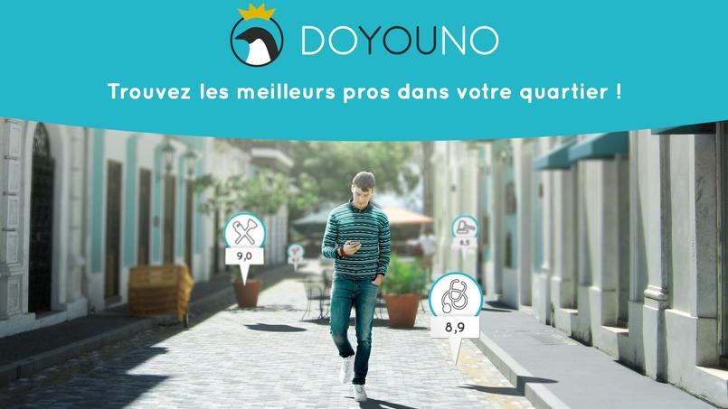 Doyouno promet au moins dix références par métiers et par quartiers.