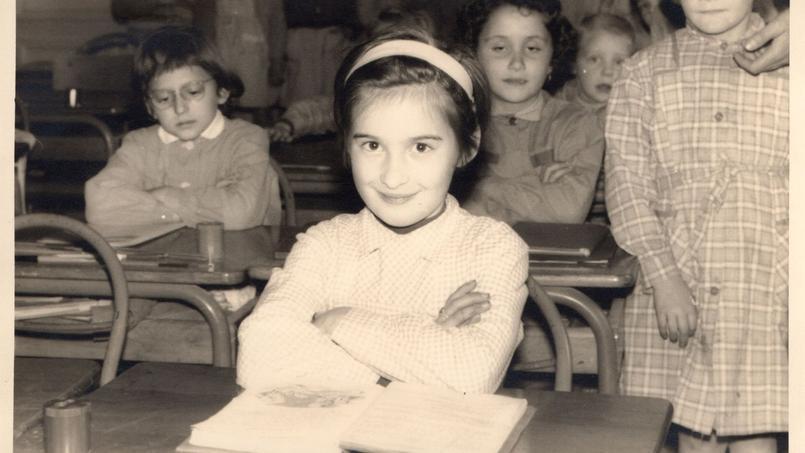 Une salle de classe en 1955.