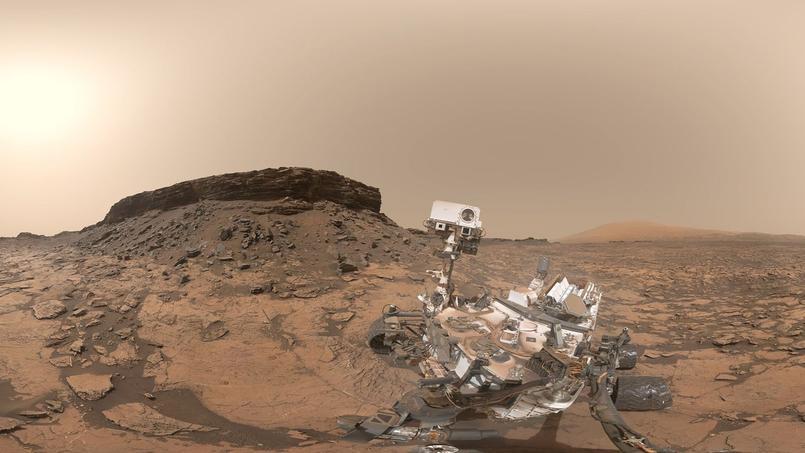 Mars : le rover Curiosity immobilisé depuis le 1er décembre