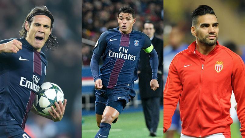 Edinson Cavani, Thiago Silva et Radamel Falcao font partie des joueurs les mieux payés du championnat de France.