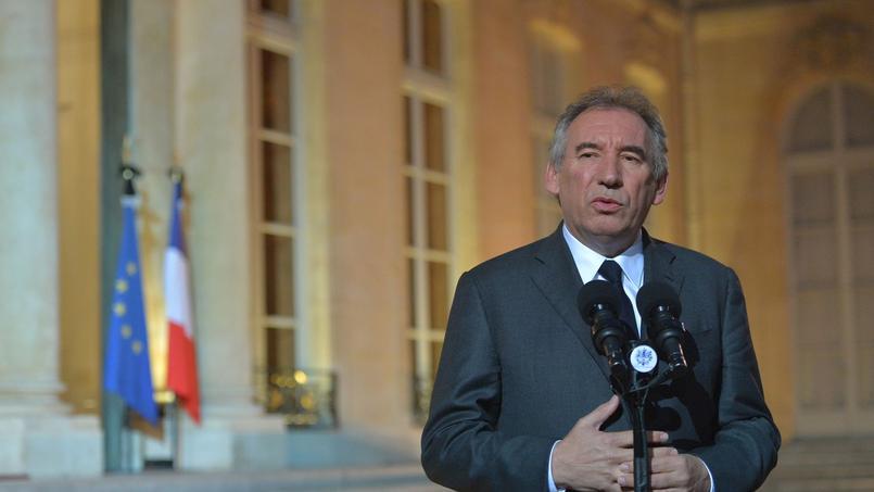 François Bayou à l'Élysée, le 15 novembre 2015.