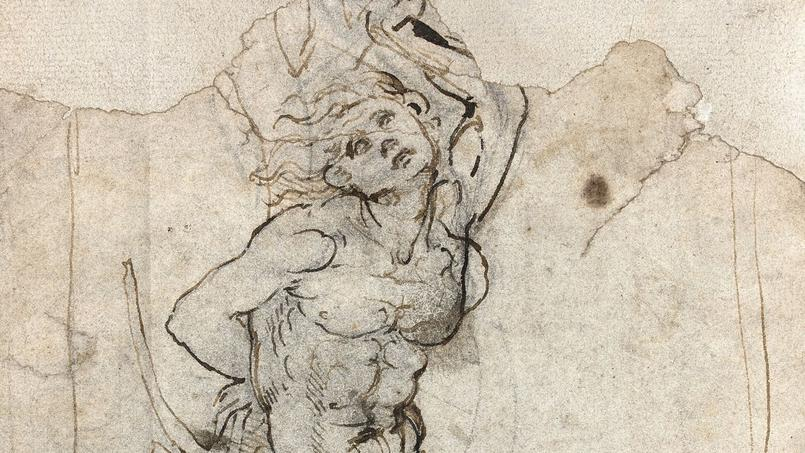 Le dessin retrouv de l onard de vinci ne quittera pas la - Dessin de leonard de vinci ...