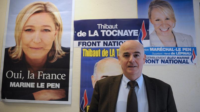 Thibault de La Tocnaye, conseiller régional FN de Paca.