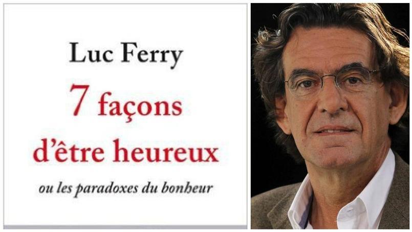 Luc Ferry à la recherche du bonheur