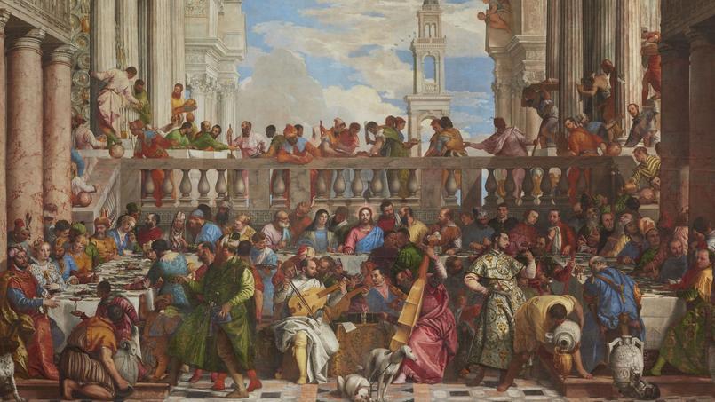 L'historien Patrick Rambourg offre une synthèse savante des pratiques culinaires de l'Antiquité à nos jours. Ici, «Les noces de Cana» de Véronèse.