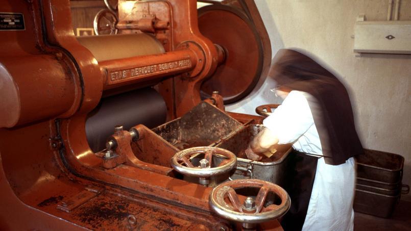 Les chocolats de Bonneval sont fabriqués depuis 1878 dans les ateliers de l'abbaye Notre-Dame-de-Bonneval (Aveyron).