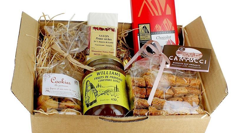 La box de Séraphin, des vrais produits en provenance des monastères.