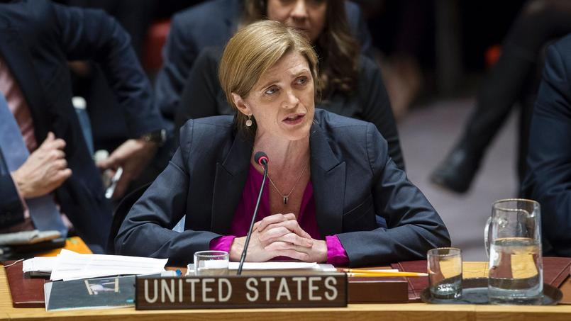 Samantha Power le 23 décembre au siège des Nations unies à New York.
