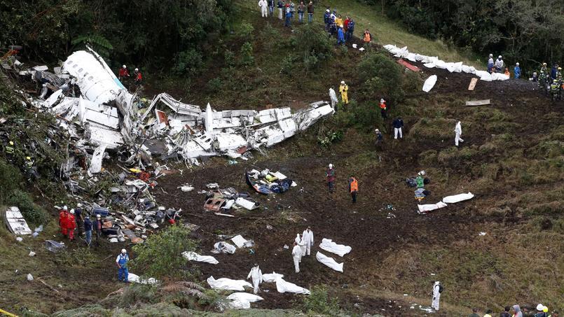Des erreurs humaines à l'origine du crash — Chapecoense