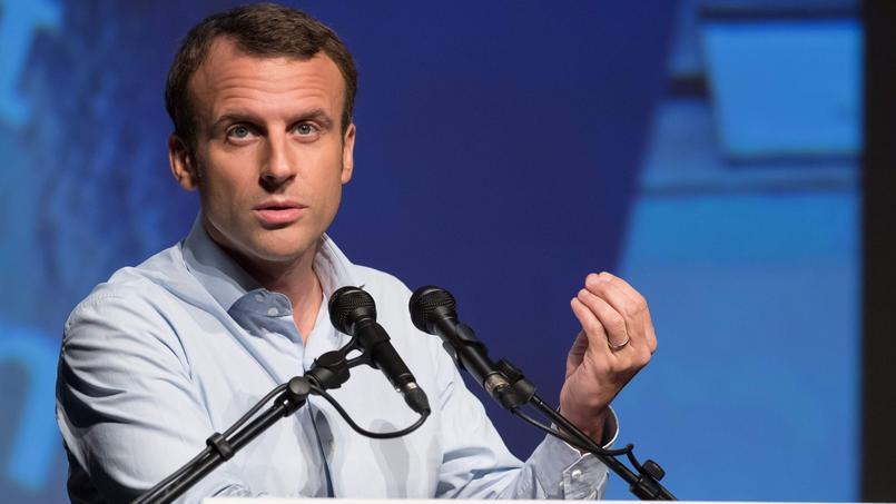 Macron, son «programme économique», et les codes du teasing d'Apple