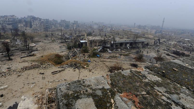 Le plan consiste à étendre le cessez-le-feu actuellement mis en place à Alep (photo) sur toute la Syrie.