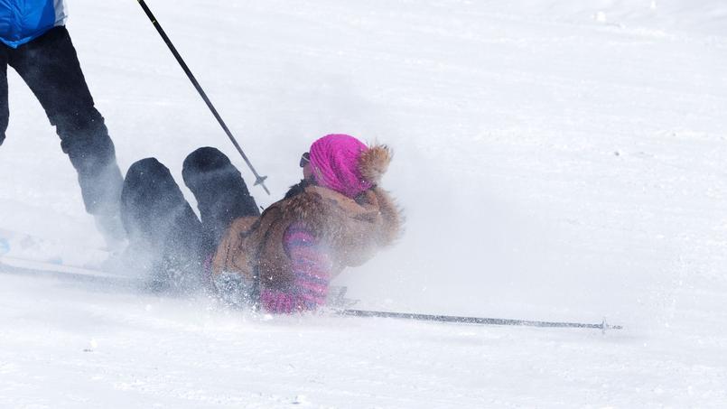De même que deux voitures qui s'accrochent, il peut y avoir, inévitablement, quelques collisions plus ou moins graves entre skieurs.