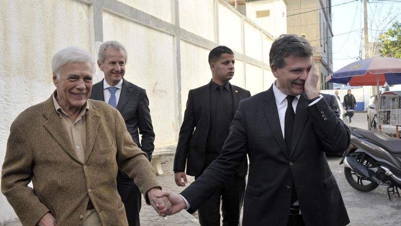 Guy Bedos devient président du comité de soutien d'Arnaud Montebourg