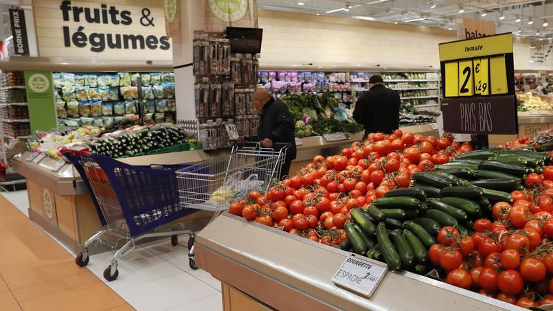 Les sacs plastique ultrafins utilisés pour les fruits et légumes sont bannis depuis le 1er janvier 2017.