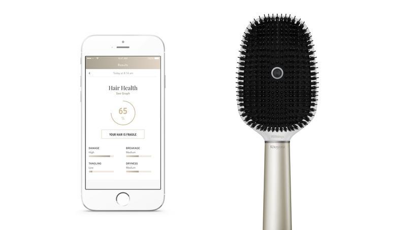 La brosse à cheveux connectée par Withings et L'Oréal — Hair Coach