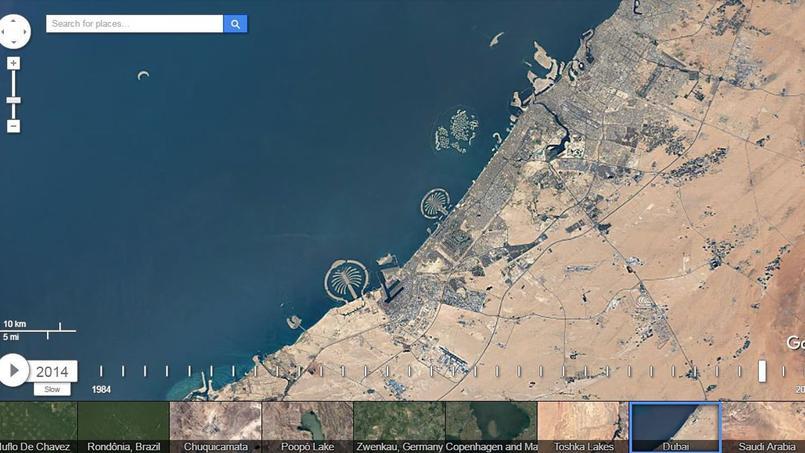 Grâce à Google Earth, regardez comment la Terre a changé depuis 30 ans