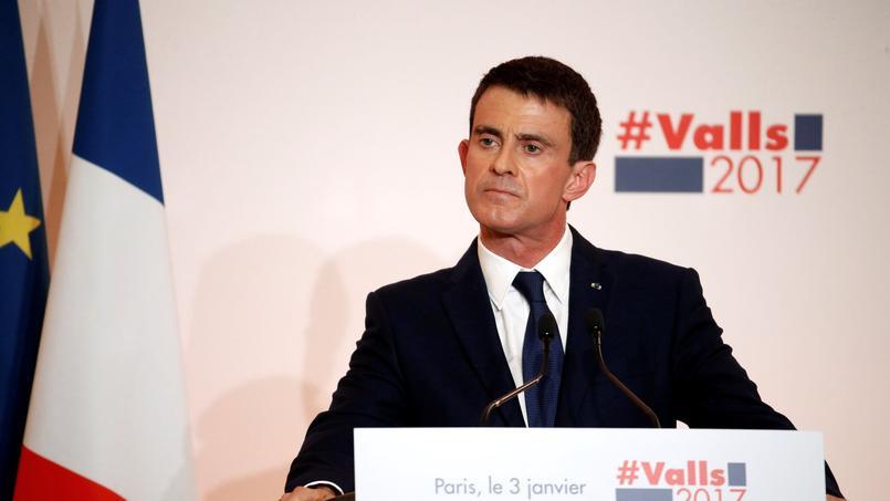 Manuel Valls à Paris, le 5 janvier 2016.