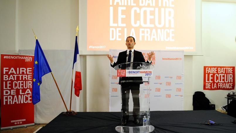 Benoît Hamon, à Nancy, vendredi 6 janvier 2016.