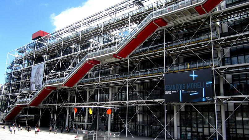 Le centre Pompidou a connu une hausse de 9% de ses visiteurs en 2016.