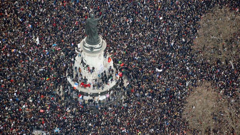 Le 11 janvier 2015, des milliers de Français se réunissaient au cri de Je suis Charlie.