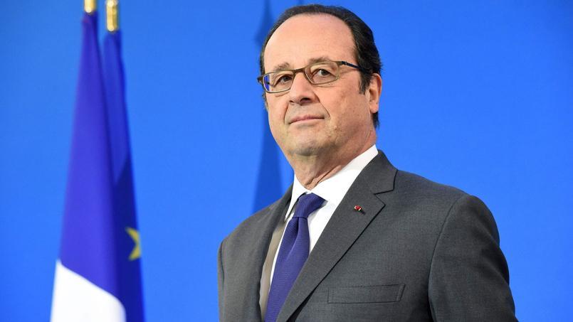 François Hollande à Ussel, samedi.