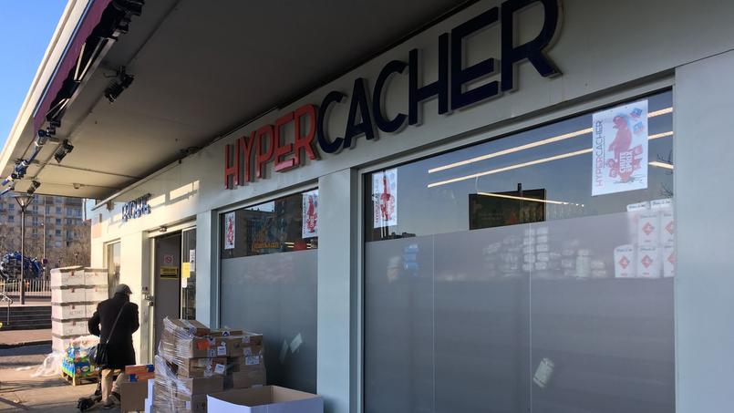 Le supermarché Hyper Cacher, porte de Vincennes, à Paris, le 6 janvier 2017.