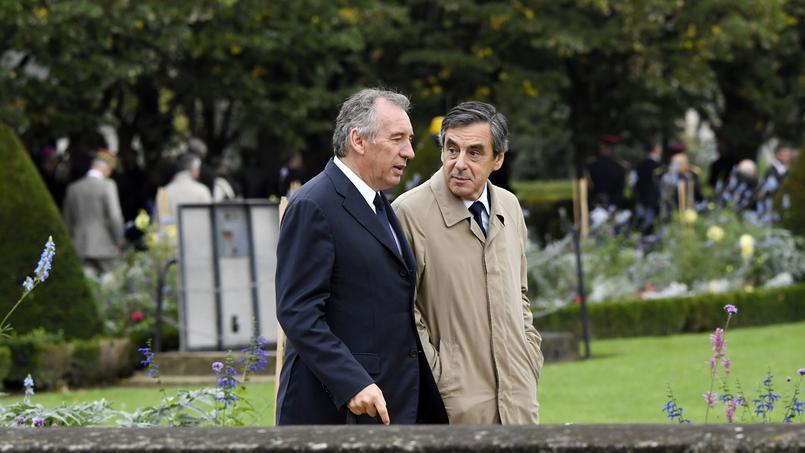 François Bayrou et François Fillon