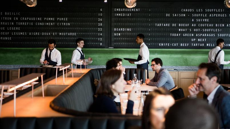 Champeaux, la brasserie d'Alain Ducasse aux Halles.
