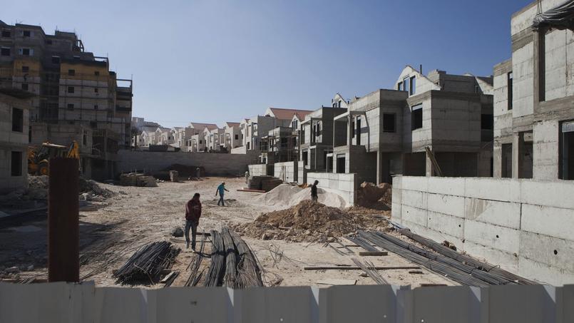 La «colonie-dortoir» de Maale Adumim a été édifiée sur des collines arides à quelques kilomètres à l'est de Jérusalem