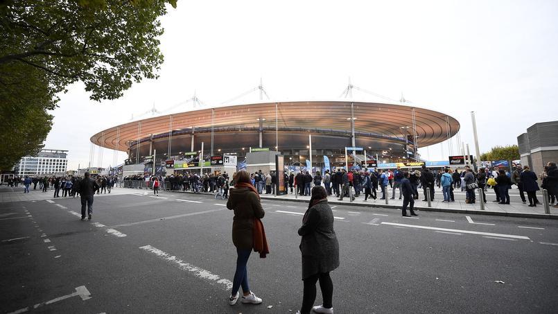 Le Stade de France à Saint-Denis (Seine-Saint-Denis), un des lieux visés par les terroristes le 13 novembre 2015.