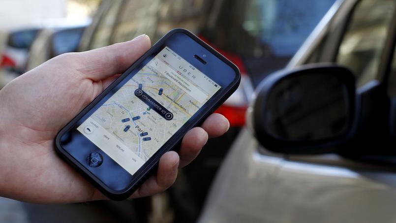 Uber ou Heetch sont des service utilisés surtout par les franciliens.