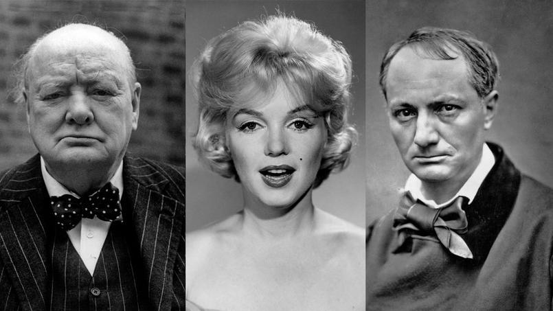 Winston Churchill, Marilyn Monroe et Charles Baudelaire ont toute leur vie affronté leurs démons.