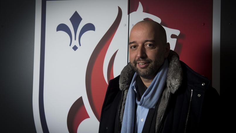 Gérard Lopez, noueau propriétaire du LOSC.