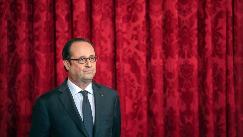 François Hollande, le 16 janvier. Le président a battu des records d'impopularité.