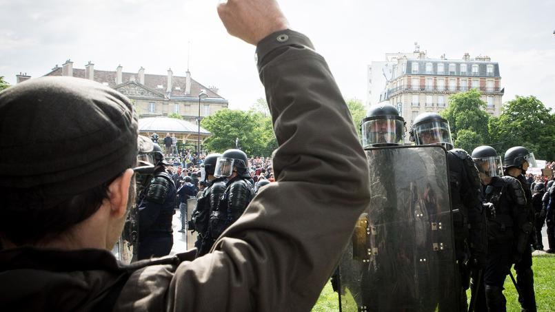 Manifestations contre la loi travail en mai 2016