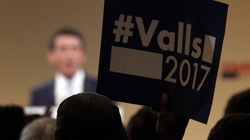 Manuel Valls organisait son dernier meeting jeudi soir à Alfortville (Val-de-Marne).
