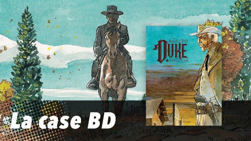 Le nouvel album d'Hermann et Yves H. son fils, Duke (aux éditions du Lombard), met en scène un shérif qui décide de faire le ménage dans une petite bourgade du Colorado.
