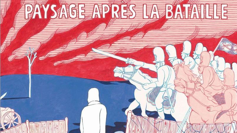 Dans Paysage après la bataille, les auteurs racontent le drame et la lente reconstruction d'une femme.