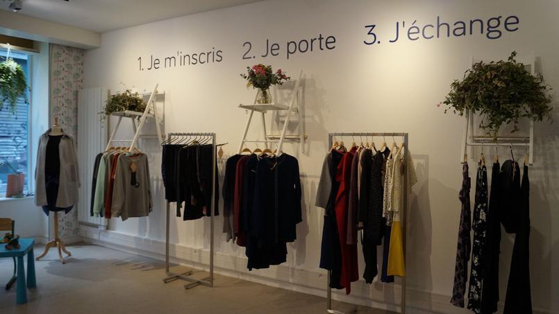 La boutique éphémère de Tale me à Paris.