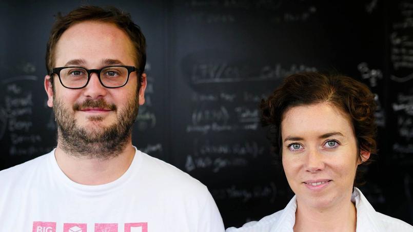 Nicolas Raspal et Rachel Delacour, cofondateurs de Bime Analytics.